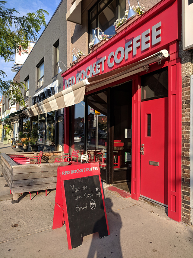 Red Rocket Coffee Shop
